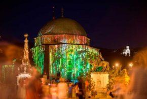 Фестиваль света в Пече