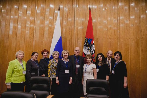 Хасанова Рита на конференции МПО в Москве