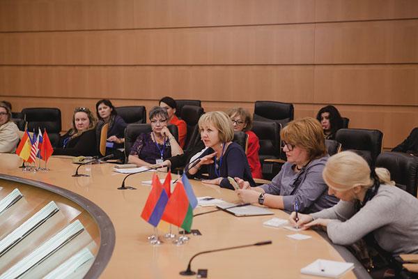 Выступление Хасановой Риты на конференции МПО в Москве