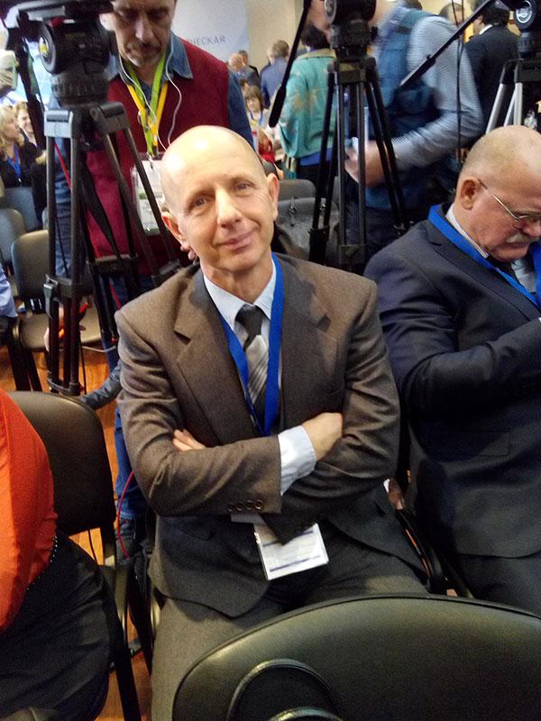 Всемирная конференция соотечественников «Вместе с Россией», Борис Якшов