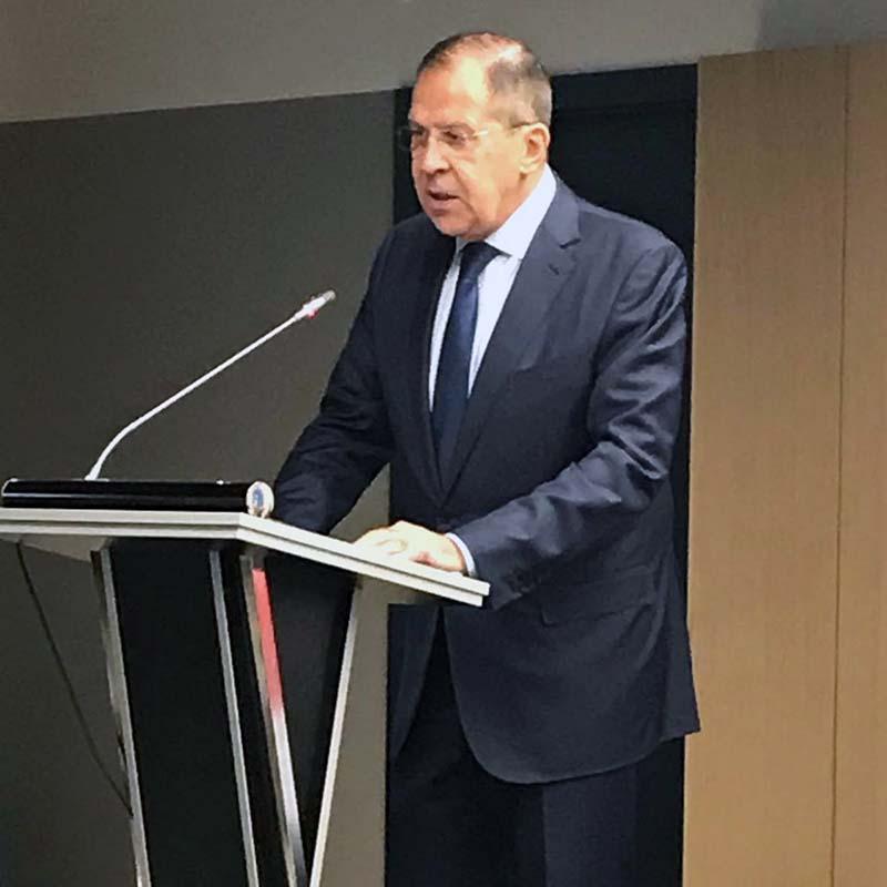 Сергей Лавров, Министр иностранных дел РФ