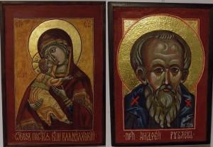 Выставка православных икон Елены Дудаш