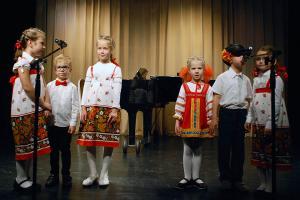 Младшая группа вокально-хоровой студии «Радость. Руководитель: Наталия Агоч