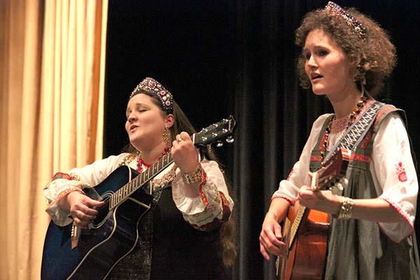 Каталин Шебештьен и Анна Ласло