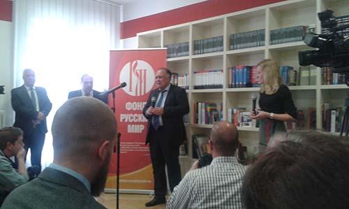 Представитель Посольства Российской Федерации в Будапеште Валерий Ляхов