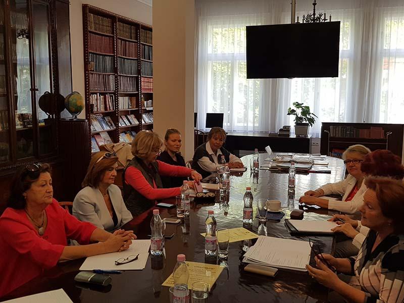 Заседание Координационного совета российских соотечественников в Венгрии