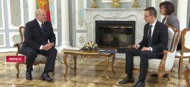 Александр Лукашенко принял Петера Сийярто в Минске