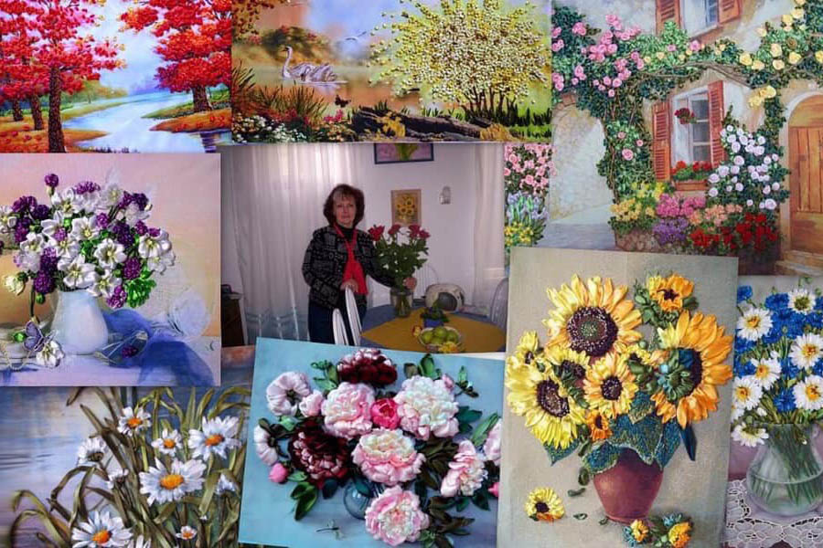 Ирина Нестерович - мастер вышивания лентами