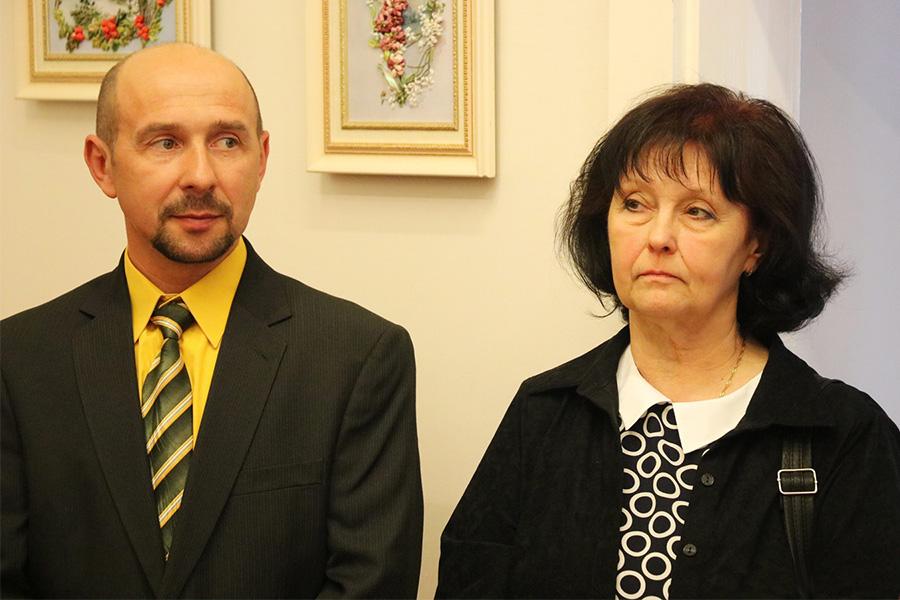 Ирина Нестерович и Влад Найдёнов