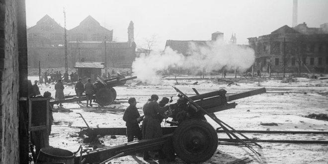 Освобождение Будапешта в 1945. Штурм города
