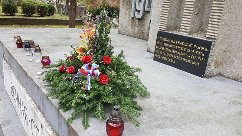 Восточное кладбище г. Капошвар, День поминовения усопших