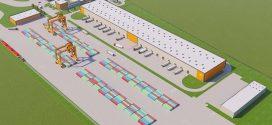 Презентация железнодорожного терминала в городе Фенешлитке