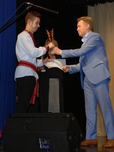 Дьондёши Ференц г. Печ 2-е место в номинации «Инструментальное исполнение»
