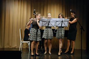 Ансамбль «Триолетта» (г. Печ) победитель фестиваля в номинации «Инструментальное исполнение»