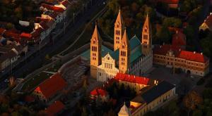 Кафедральный собор города Печ