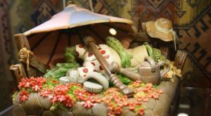 Музейные экспозиции, которыми можно полакомиться - марципан