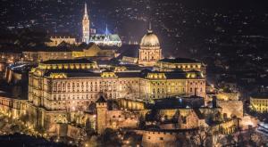 Сияние ночного Будапешта