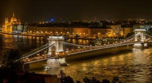 Старый Цепной мост через Дунай