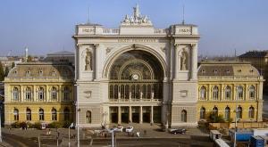 Уникальный историчесий вокзал Келети конца XIX века